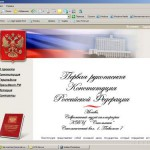 Проект о рукописной Конституции РФ